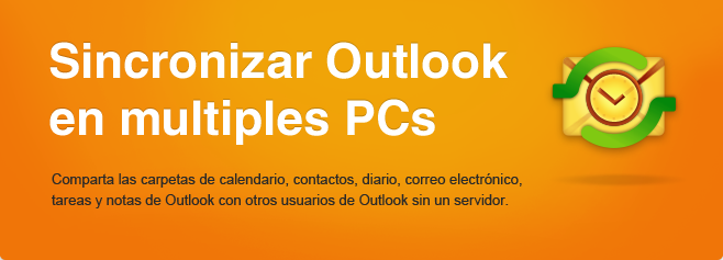 ShareO -  Sincronice Microsoft Outlook en múltiples PCs