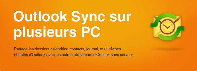 ShareO - Synchroniser les Microsoft Outlook entre plusieurs PCs